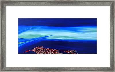 Sea Dragon Framed Print by Robert Nickologianis