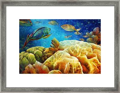 Sea Escape I -27x40 Framed Print by Nancy Tilles