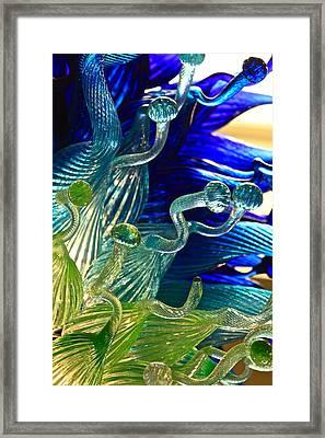 Sea Glass Framed Print by Karon Melillo DeVega