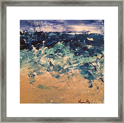 Sea Mist Framed Print by Kimberly Balentine