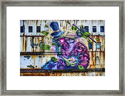Sea Monster Art Framed Print by Ian Mitchell