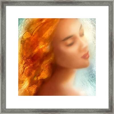 Sea Nymph Dream Framed Print by Michael Rock
