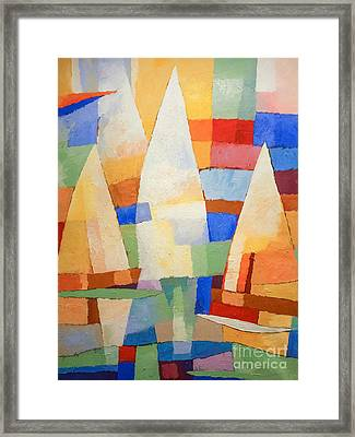 Sea Of Colors Framed Print by Lutz Baar
