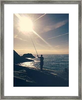 Sea Of Dreams.. Framed Print by A Rey