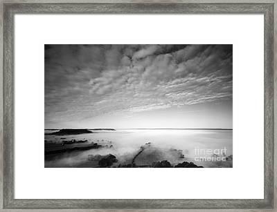 Sea Of Fog Framed Print by Anne Gilbert