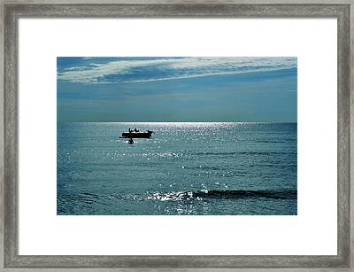 Sea Of Love Framed Print by Laura Fasulo
