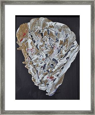 Sea Shell Framed Print by Brenda Chapman