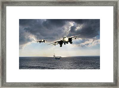 Sea Snakes Framed Print by Peter Chilelli