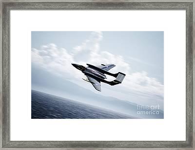 Sea Vixen  Framed Print by J Biggadike