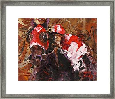Seabiscuit Framed Print by Ron and Metro
