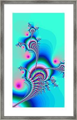 Seahorse Dance Framed Print by Anastasiya Malakhova