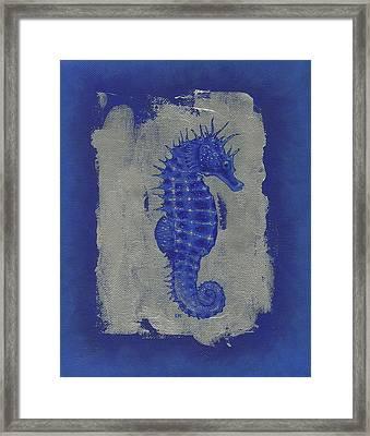 Seahorse Framed Print by Konni Jensen