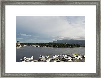 Seaplanes Framed Print by Ivy Ho