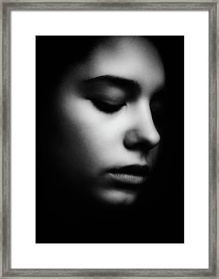 Search Framed Print by Mirjana Kovachevic