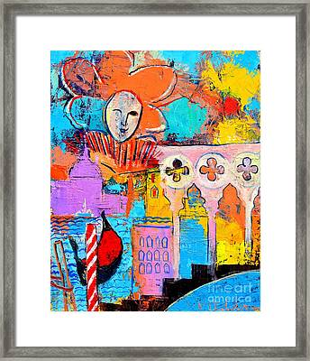 Search Of Lost Time In Venice Framed Print by Ana Maria Edulescu