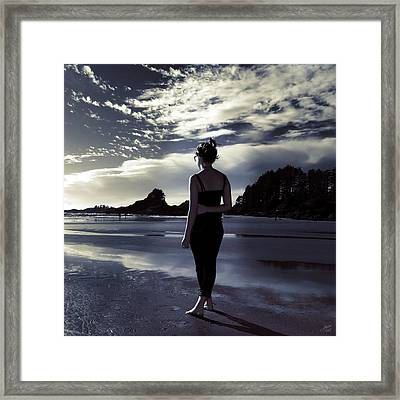 Searching For Meaning Framed Print by Lisa Knechtel