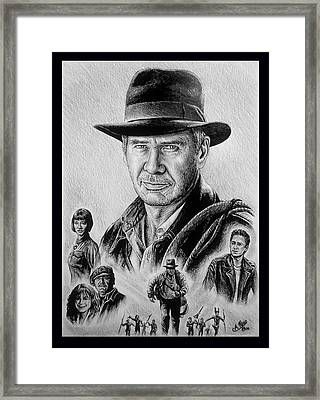 Searching For The Crystal Skull Framed Print by Andrew Read