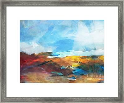 Seascape 4 Framed Print by Artwork Studio