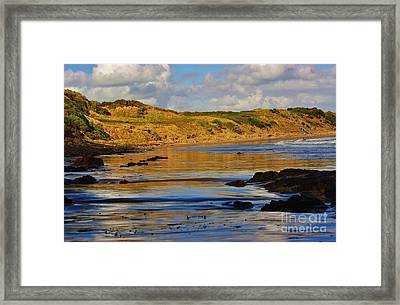 Seascape At Phillip Island Framed Print by Blair Stuart
