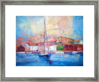 Seascape Impression Framed Print by Lutz Baar