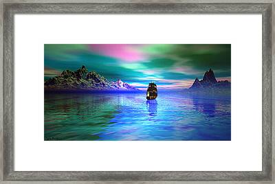 Seascape Framed Print by Tyler Robbins