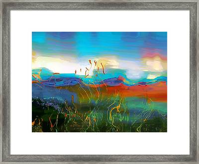 Seascapes 1 Framed Print by Amanda Moore