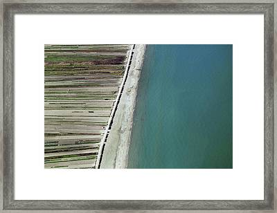 Seaside, Barletta Framed Print by Blom ASA