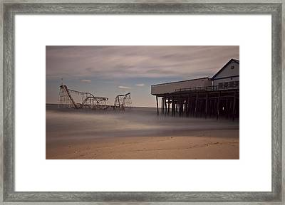 Seaside Carnage Framed Print by Richard Zoeller