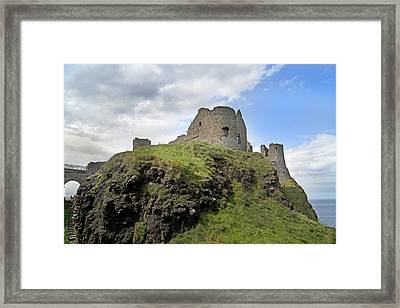 Seaside Castle Ireland Framed Print by Betsy Knapp