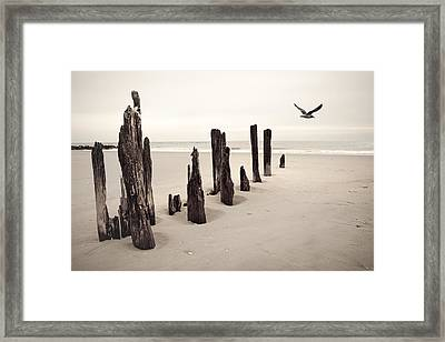 Seaside Framed Print by Gary Heller