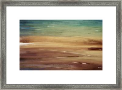 Seaside Framed Print by Lourry Legarde