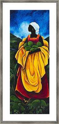 Season Avocado Framed Print by Patricia Brintle
