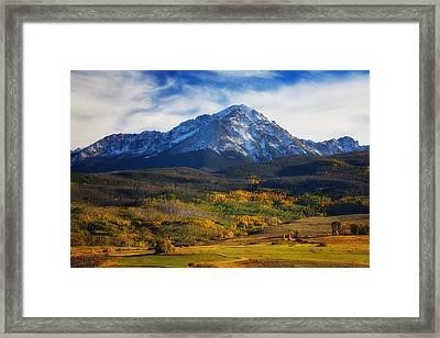 Seasons Change Framed Print by Darren  White
