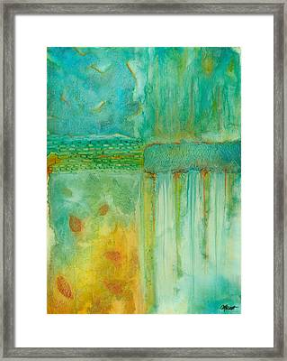 Seasons Framed Print by Margarita Puckett