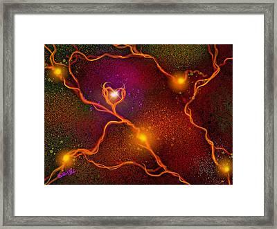 Seat Of The Soul Framed Print by Billie Jo Ellis