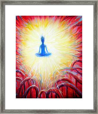 Seat Of The Soul Framed Print by Heather Calderon