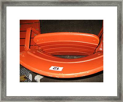 Seats - Nationals Park - 01131 Framed Print by DC Photographer