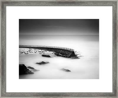 Seawall Framed Print by Alexander Kunz