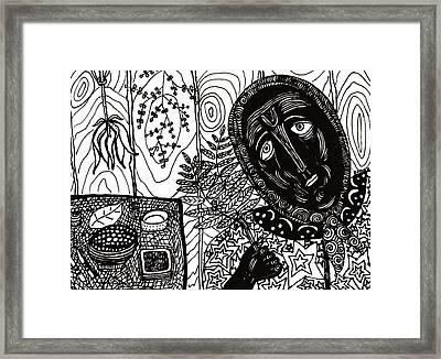 Sebastiana Framed Print by Sarah Loft
