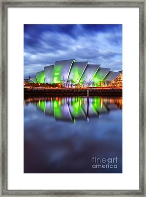 Secc Glasgow Scotland Framed Print by John Farnan