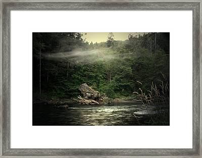Seclusion On The Trinity Framed Print by Joyce Dickens