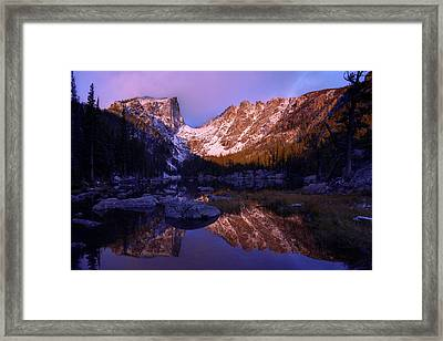 Second Light Framed Print by Chad Dutson