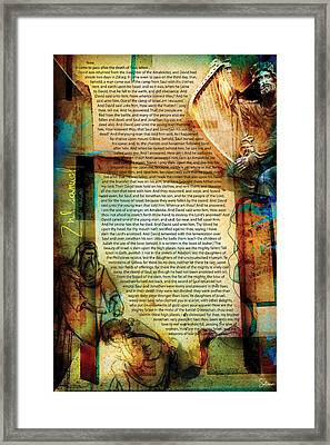Second Samuel 1 Framed Print by Switchvues Design