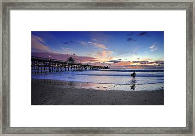 Second Shift Framed Print by Sean Foster