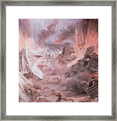 Second World War (1939-1945 Framed Print by Prisma Archivo