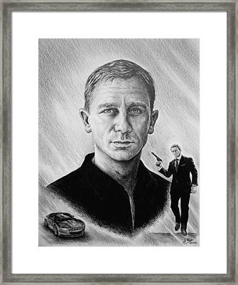 Secret Agent Framed Print by Andrew Read