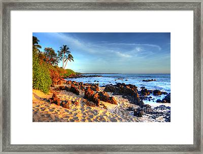 Secret Cove  Framed Print by Kelly Wade