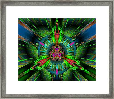 Secret Garden Framed Print by Claude McCoy