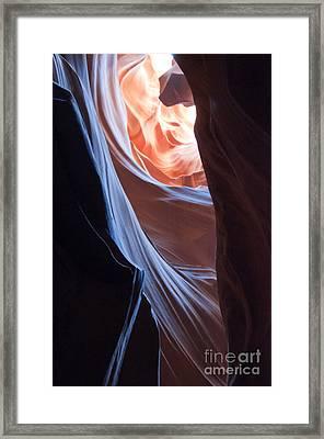 Secret Passage Framed Print by Brenda Kean