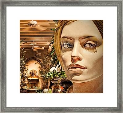Secret Rendezvous  Framed Print by Chuck Staley